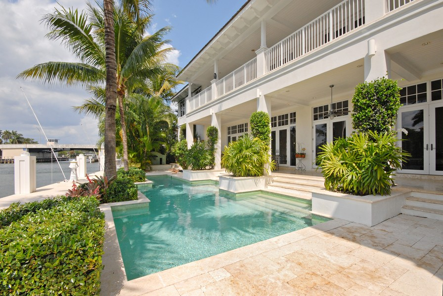 Real Estate Photography - 135 Spanish Trail, Boca Raton, FL, 33432 - Pool