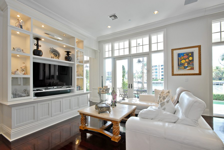 Real Estate Photography - 135 Spanish Trail, Boca Raton, FL, 33432 - Family Room