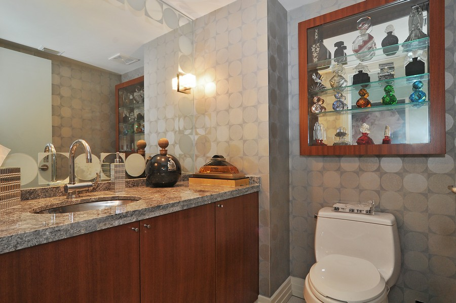 Real Estate Photography - 9401 Collins Ave, Unit 906, Surfside, FL, 33154 - 3rd Bathroom