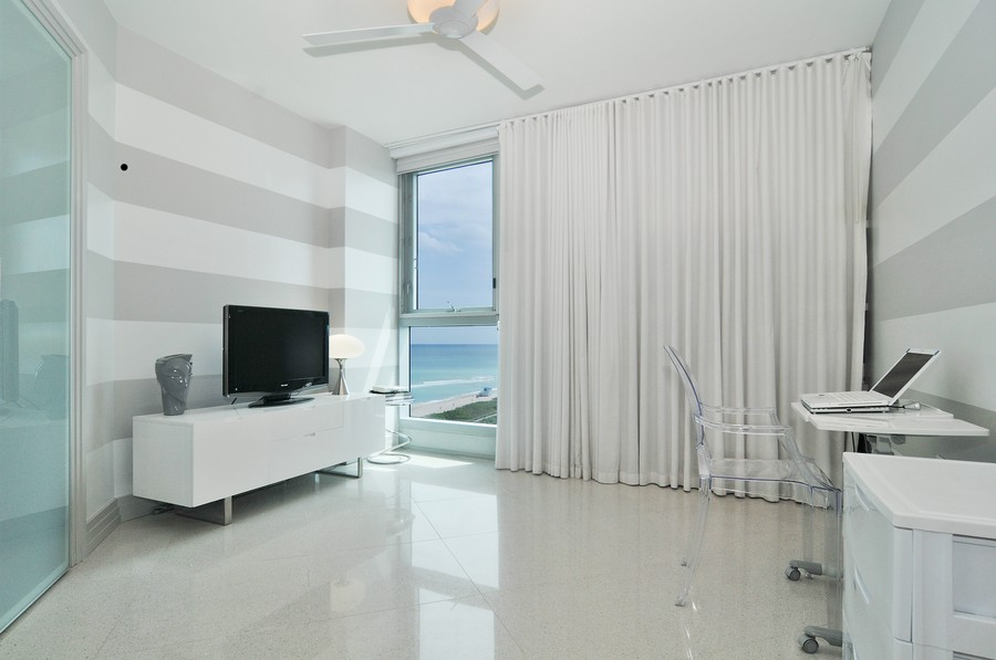 Real Estate Photography - 9401 Collins Ave, Unit 906, Surfside, FL, 33154 - 3rd Bedroom