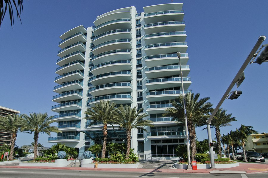 Real Estate Photography - 9401 Collins Ave, Unit 906, Surfside, FL, 33154 - Front View