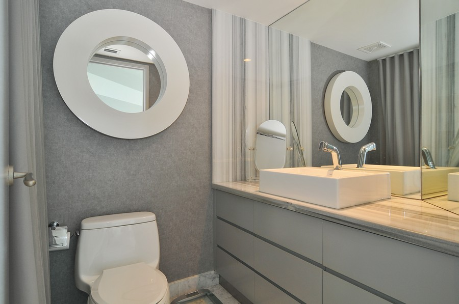 Real Estate Photography - 9401 Collins Ave, Unit 906, Surfside, FL, 33154 - 2nd Bathroom