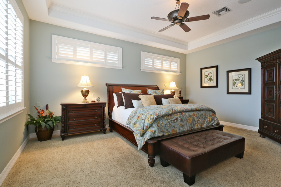 Real Estate Photography - 21 Spanish Main St, Tampa, FL, 33609 - Master Bedroom