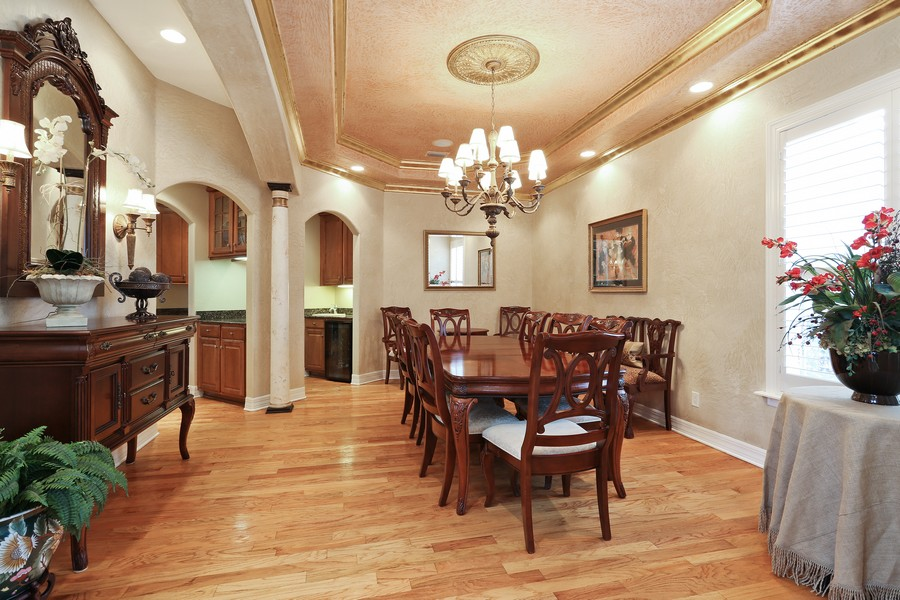 Real Estate Photography - 21 Spanish Main St, Tampa, FL, 33609 - Dining Room