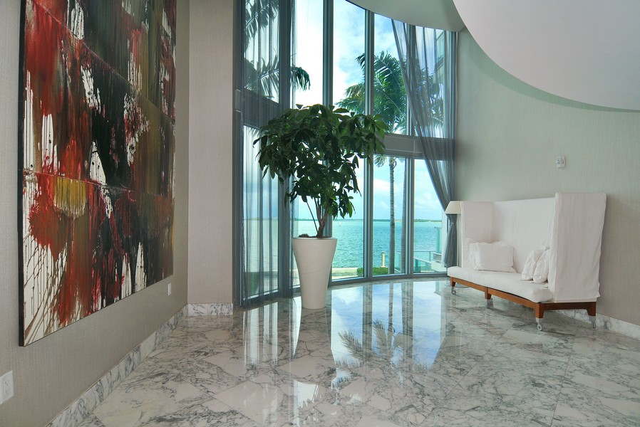 Real Estate Photography - 1331 Brickell Bay, Unit BL-33, Miami, FL, 33131 - Lobby