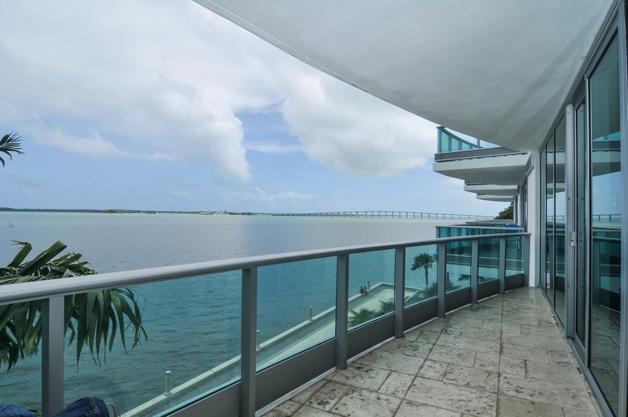 Real Estate Photography - 1331 Brickell Bay, Unit BL-33, Miami, FL, 33131 - Terrace