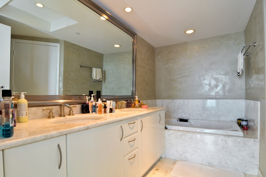 Real Estate Photography - 1331 Brickell Bay, Unit BL-33, Miami, FL, 33131 - Master Bathroom