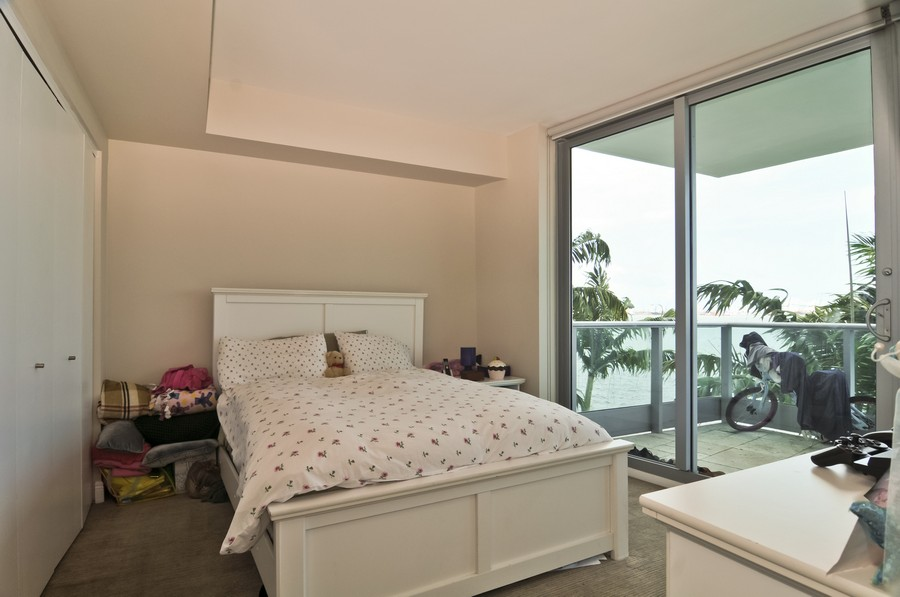 Real Estate Photography - 1331 Brickell Bay, Unit BL-33, Miami, FL, 33131 - 2nd Bedroom