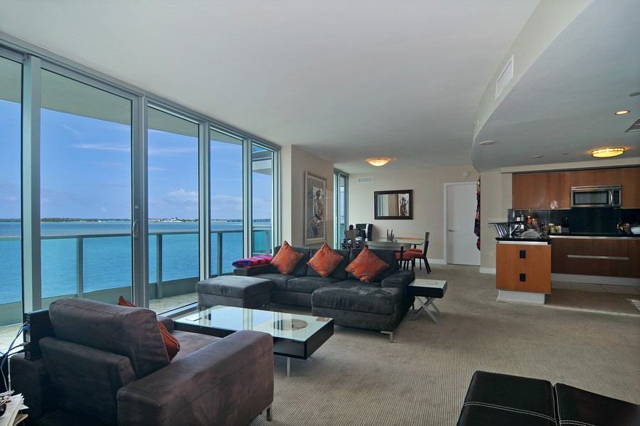 Real Estate Photography - 1331 Brickell Bay, Unit BL-33, Miami, FL, 33131 - Great Room