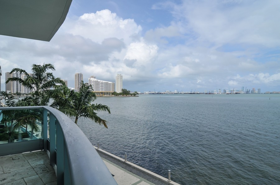 Real Estate Photography - 1331 Brickell Bay, Unit BL-33, Miami, FL, 33131 - Balcony