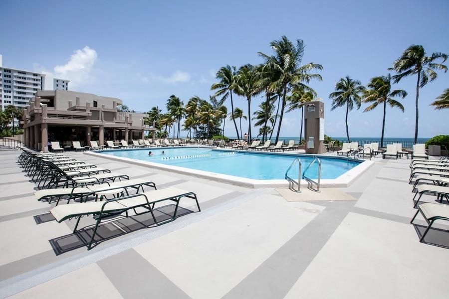 Real Estate Photography - 151 Crandon, Apt 345, Key Biscayne, FL, 33149 -
