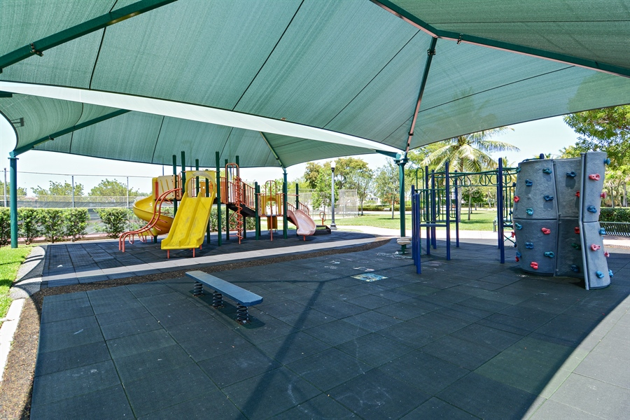 Real Estate Photography - 302 S Coconut Lane, Miami Beach, FL, 33139 - Palm Island Children's Playground
