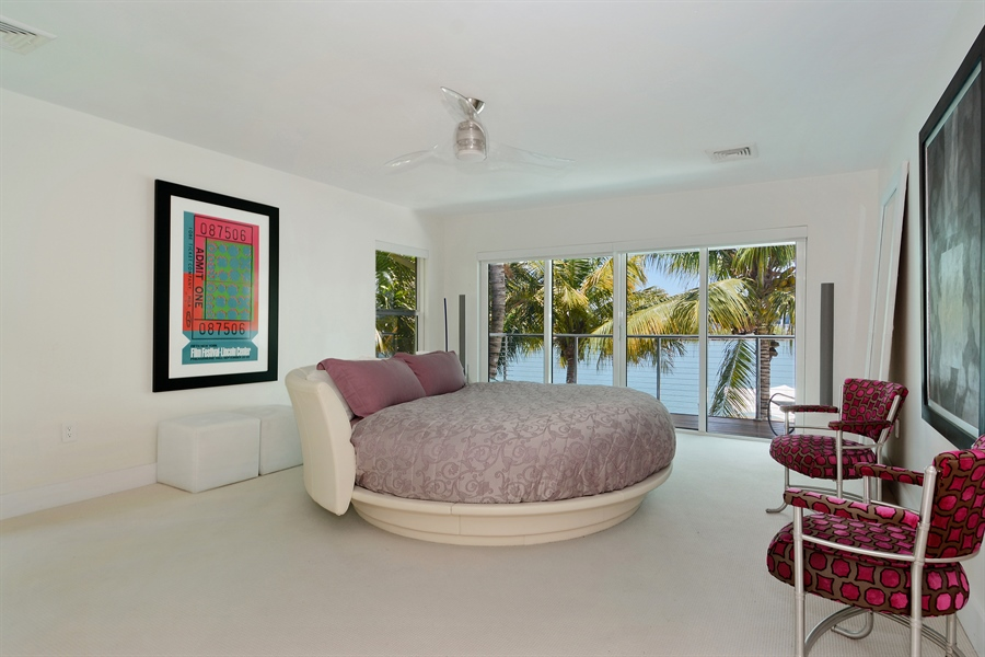 Real Estate Photography - 302 S Coconut Lane, Miami Beach, FL, 33139 - Master Bedroom