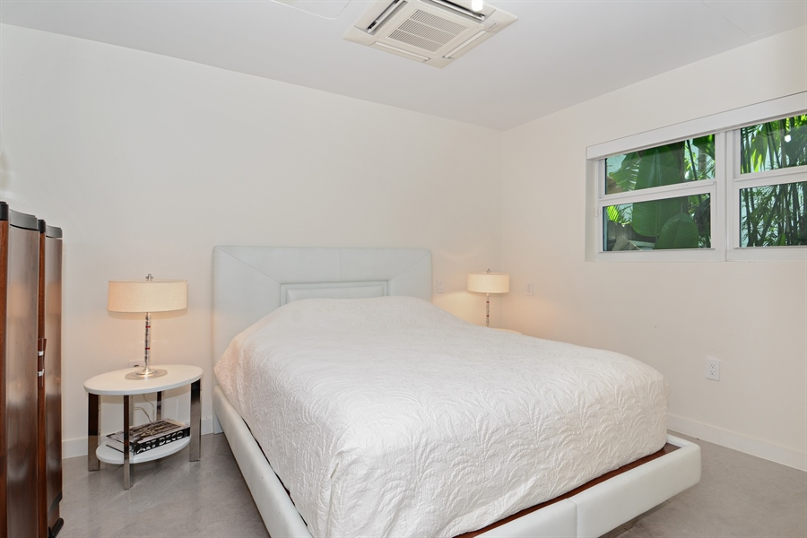 Real Estate Photography - 302 S Coconut Lane, Miami Beach, FL, 33139 - Guest Bedroom