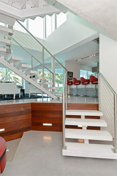 Real Estate Photography - 302 S Coconut Lane, Miami Beach, FL, 33139 - Foyer