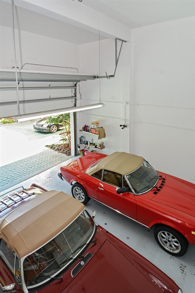 Real Estate Photography - 302 S Coconut Lane, Miami Beach, FL, 33139 - Garage