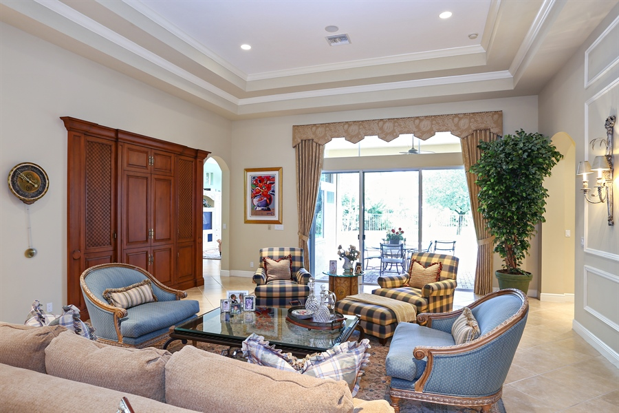 Real Estate Photography - 16313 Braeburn Ridge Trl, Delray Beach, FL, 33446 - Living Room