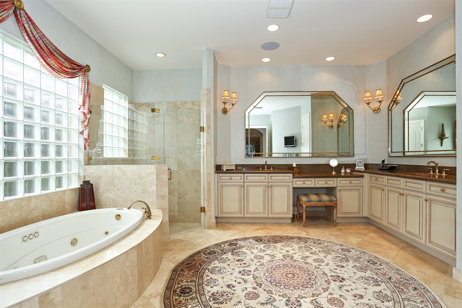 Real Estate Photography - 16313 Braeburn Ridge Trl, Delray Beach, FL, 33446 - Master Bathroom