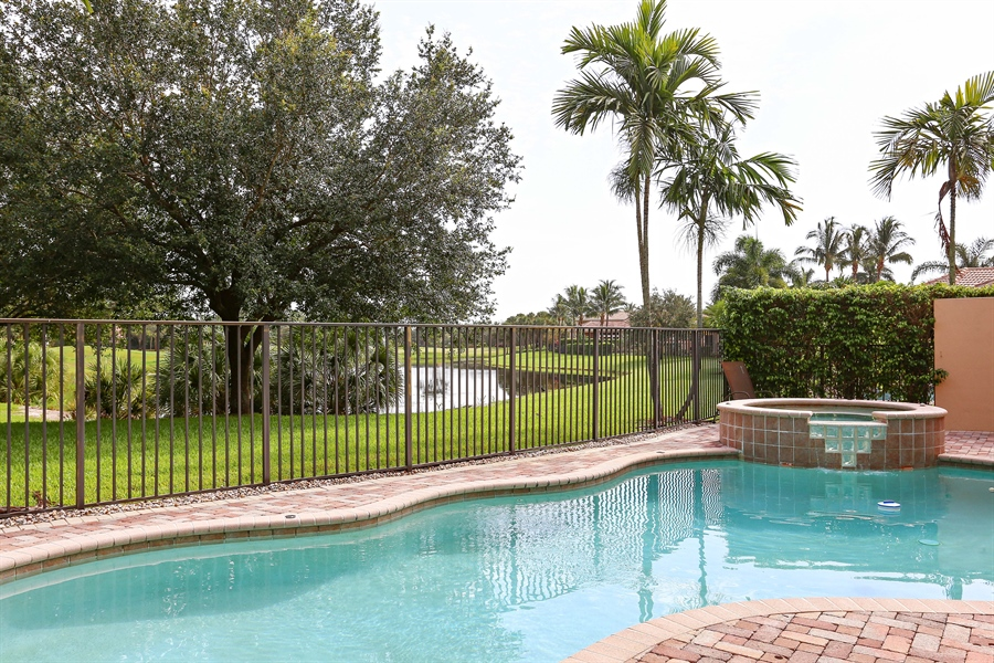 Real Estate Photography - 16313 Braeburn Ridge Trl, Delray Beach, FL, 33446 - Pool