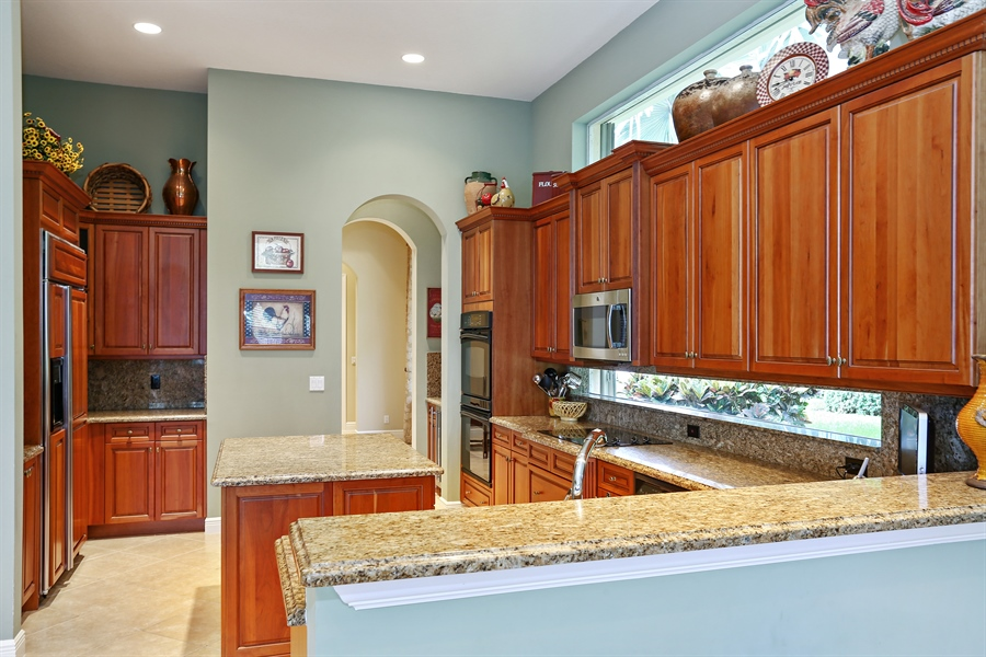 Real Estate Photography - 16313 Braeburn Ridge Trl, Delray Beach, FL, 33446 - Kitchen
