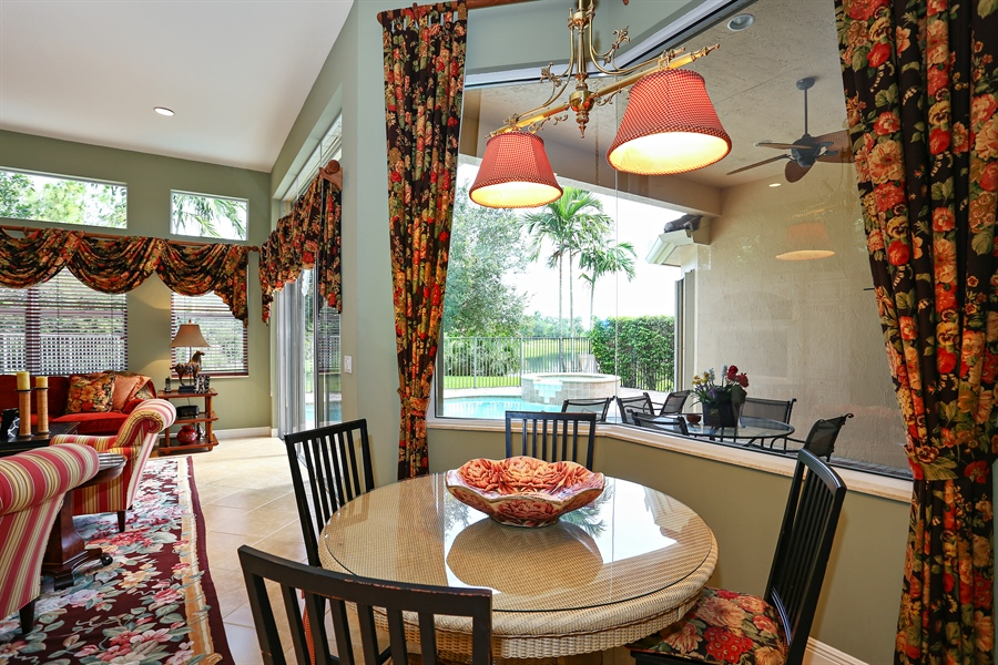 Real Estate Photography - 16313 Braeburn Ridge Trl, Delray Beach, FL, 33446 - Breakfast Nook