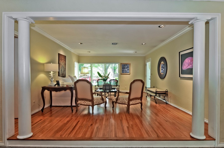 Real Estate Photography - 521 San Juan, Coral Gables, FL, 33143 - Living Room