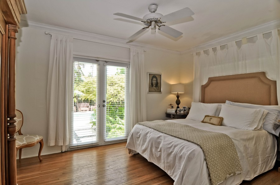 Real Estate Photography - 521 San Juan, Coral Gables, FL, 33143 - Master Bedroom