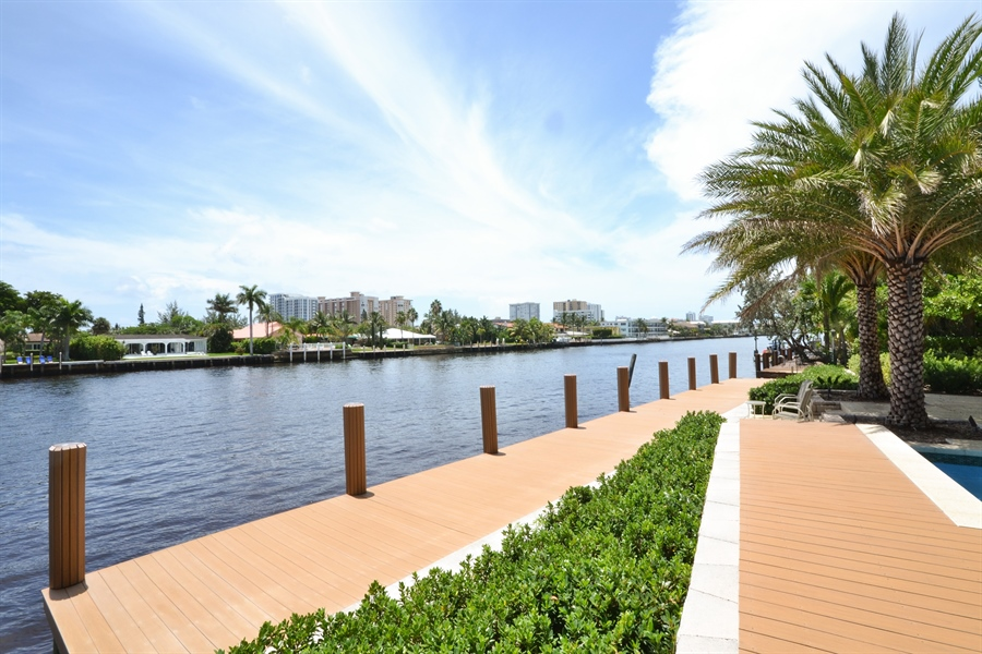 Real Estate Photography - 290 SE 28th Ave, Pompano Beach, FL, 33062 - Intracoastal View