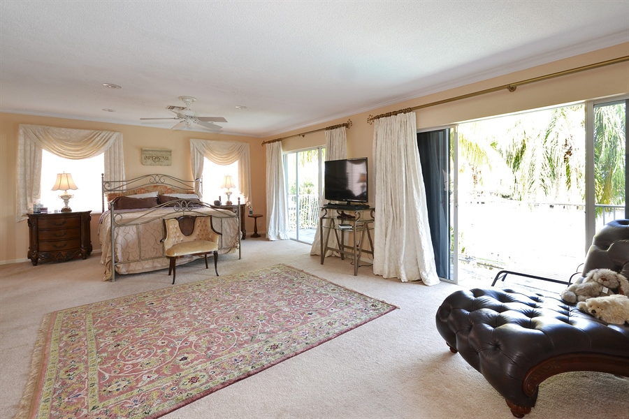 Real Estate Photography - 211 S Riverside Dr, Pompano Beach, FL, 33062 - Master Bedroom