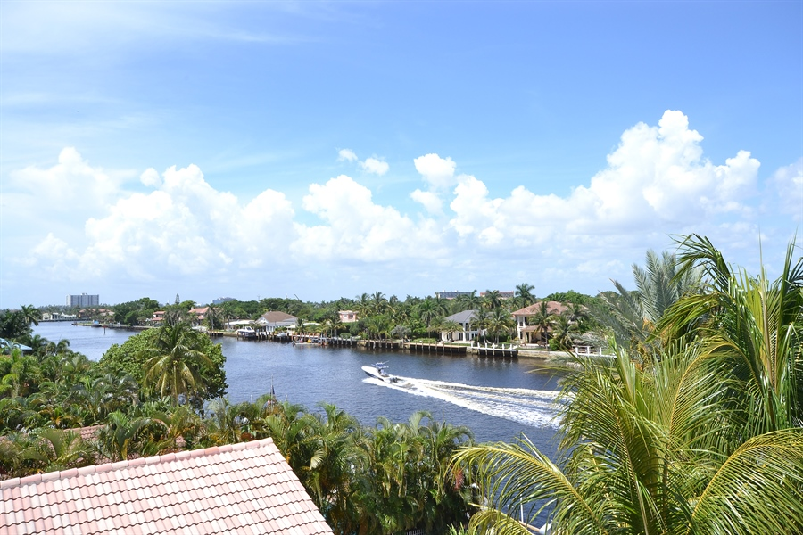 Real Estate Photography - 211 S Riverside Dr, Pompano Beach, FL, 33062 - Roof Deck