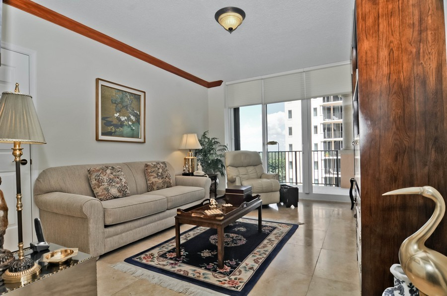 Real Estate Photography - 13627 Dearing Bay Dr, Unit 701, Coral Gables, FL, 33158 - 2nd Bedroom