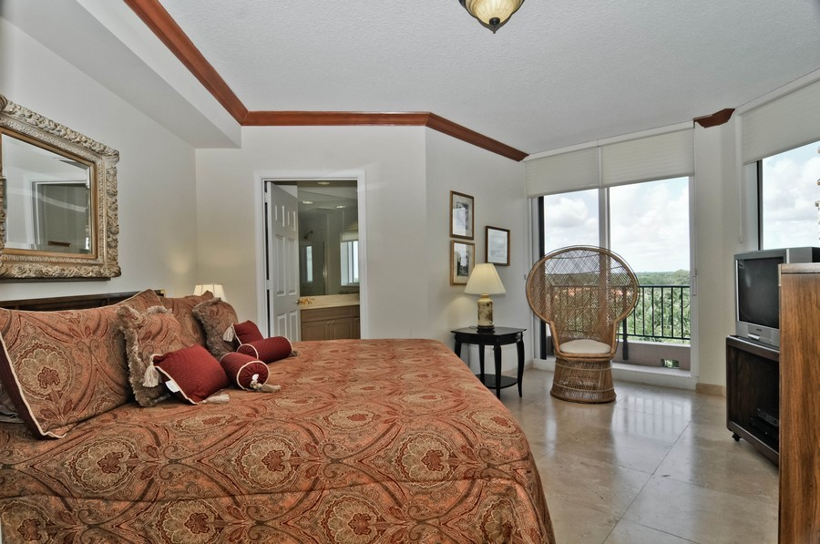 Real Estate Photography - 13627 Dearing Bay Dr, Unit 701, Coral Gables, FL, 33158 - 4th Bedroom