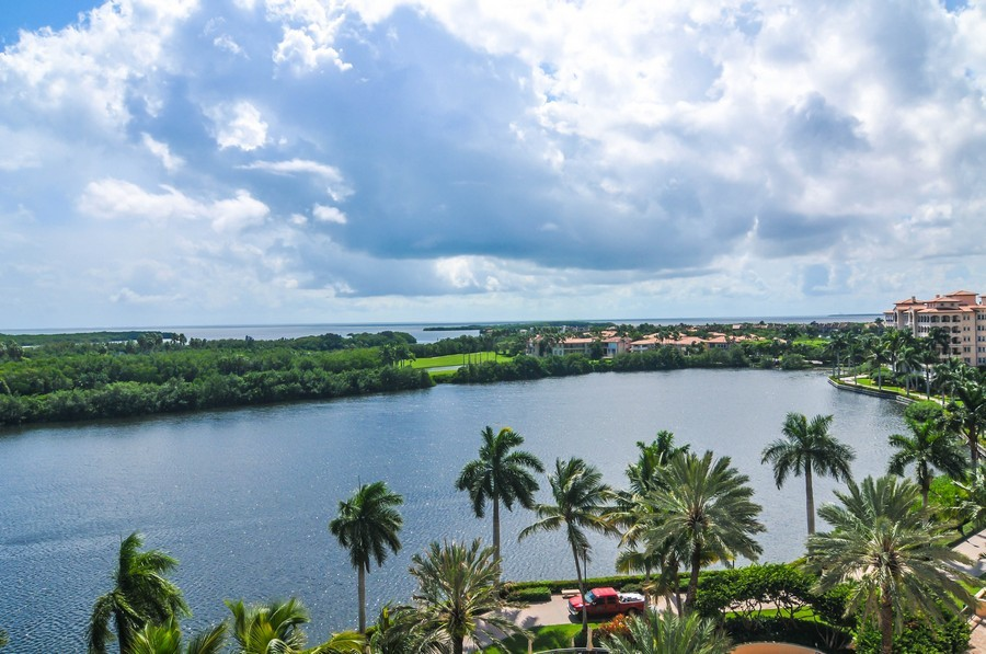 Real Estate Photography - 13627 Dearing Bay Dr, Unit 701, Coral Gables, FL, 33158 - Ocean View