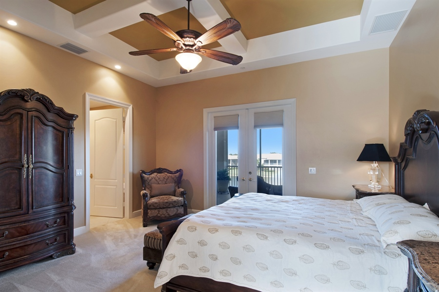 Real Estate Photography - 510 Avellino Isles Cir, Unit 2302, Naples, FL, 34119 - Master Bedroom