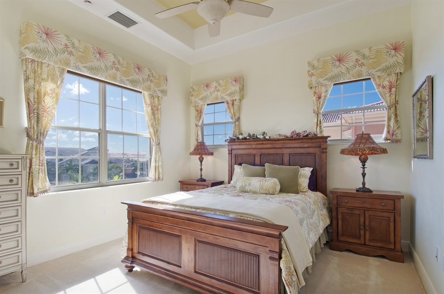 Real Estate Photography - 510 Avellino Isles Cir, Unit 2302, Naples, FL, 34119 - 2nd Bedroom