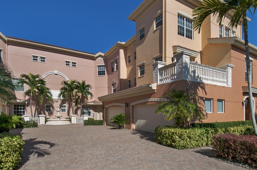 Real Estate Photography - 510 Avellino Isles Cir, Unit 2302, Naples, FL, 34119 - Front View