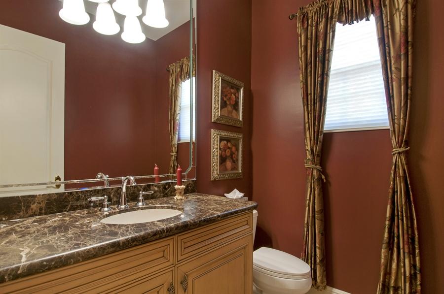 Real Estate Photography - 510 Avellino Isles Cir, Unit 2302, Naples, FL, 34119 - Half Bath