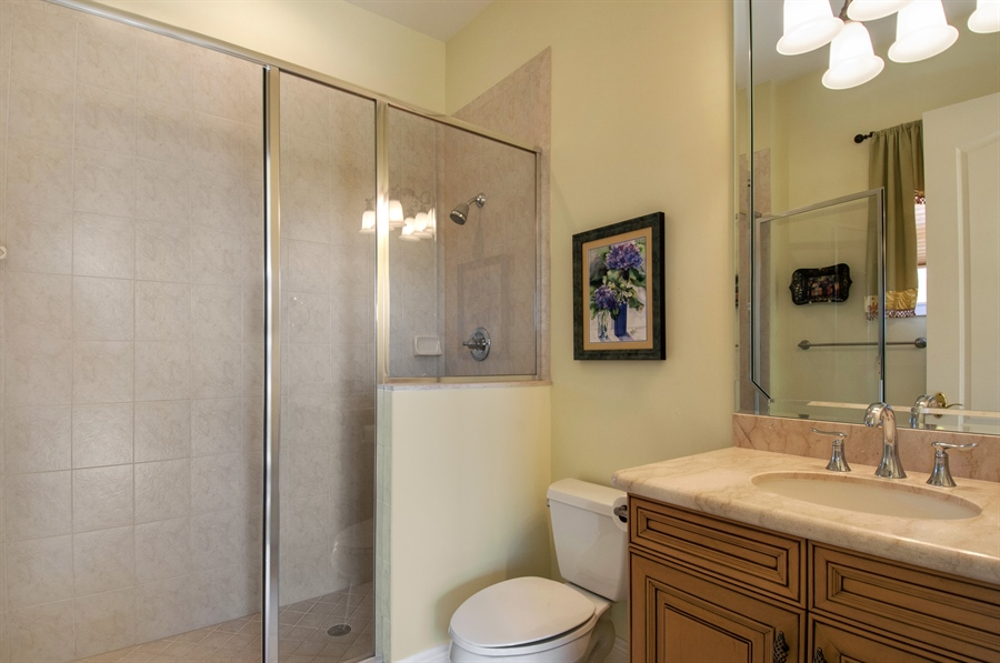 Real Estate Photography - 510 Avellino Isles Cir, Unit 2302, Naples, FL, 34119 - Bathroom
