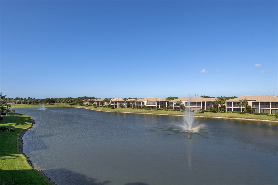 Real Estate Photography - 510 Avellino Isles Cir, Unit 2302, Naples, FL, 34119 - Lake View