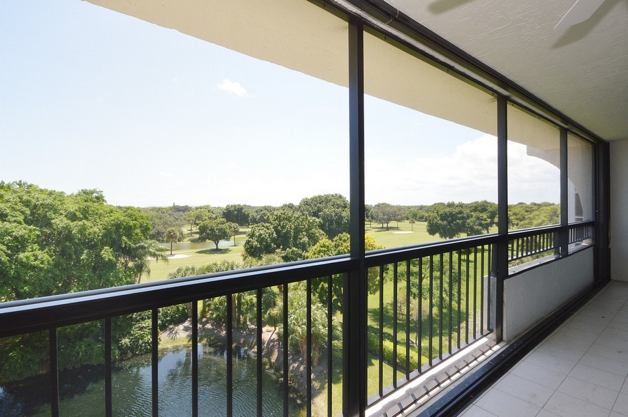 Real Estate Photography - 6530 Boca Del Mar Dr, Boca Raton, FL, 33433 - Balcony