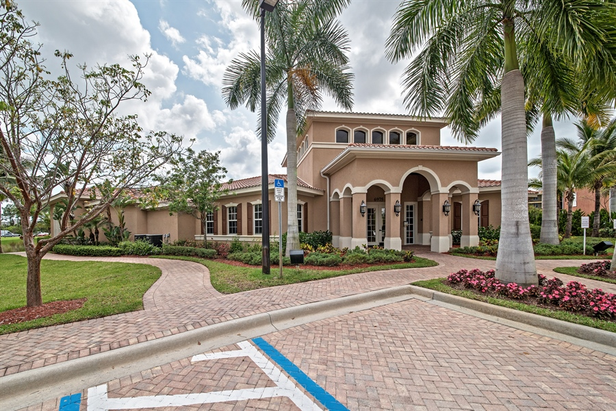 Real Estate Photography - 7065 Sierra Club Cir, Unit 206, Naples, FL, 34113 - Clubhouse