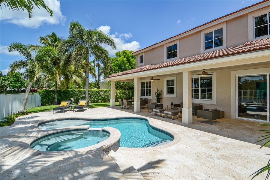 Real Estate Photography - 1289 Leeward Way, Weston, FL, 33327 - Pool