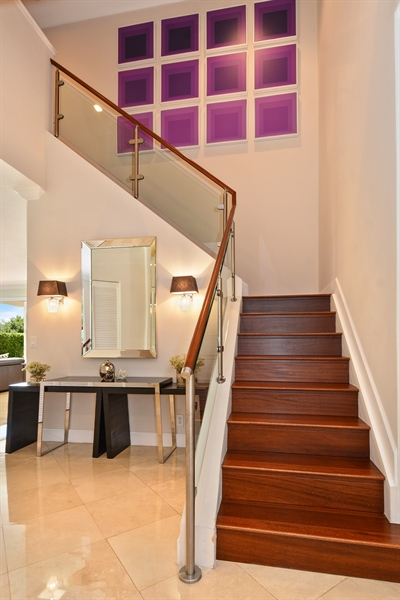 Real Estate Photography - 1289 Leeward Way, Weston, FL, 33327 - Staircase