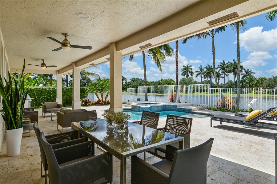 Real Estate Photography - 1289 Leeward Way, Weston, FL, 33327 - Patio