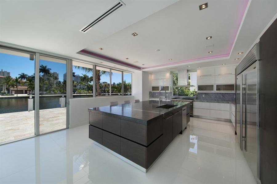 Real Estate Photography - 300 Royal Plaza Dr, Fort Lauderdale, FL, 33301 - Kitchen