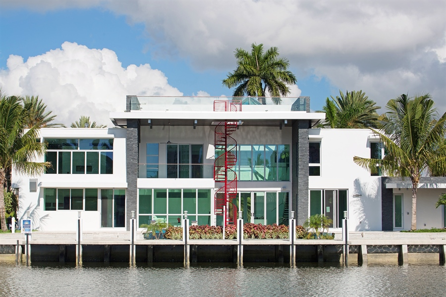 Real Estate Photography - 300 Royal Plaza Dr, Fort Lauderdale, FL, 33301 - Rear View