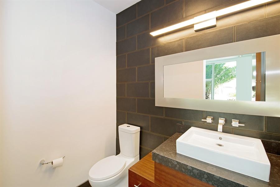 Real Estate Photography - 300 Royal Plaza Dr, Fort Lauderdale, FL, 33301 - Half Bath