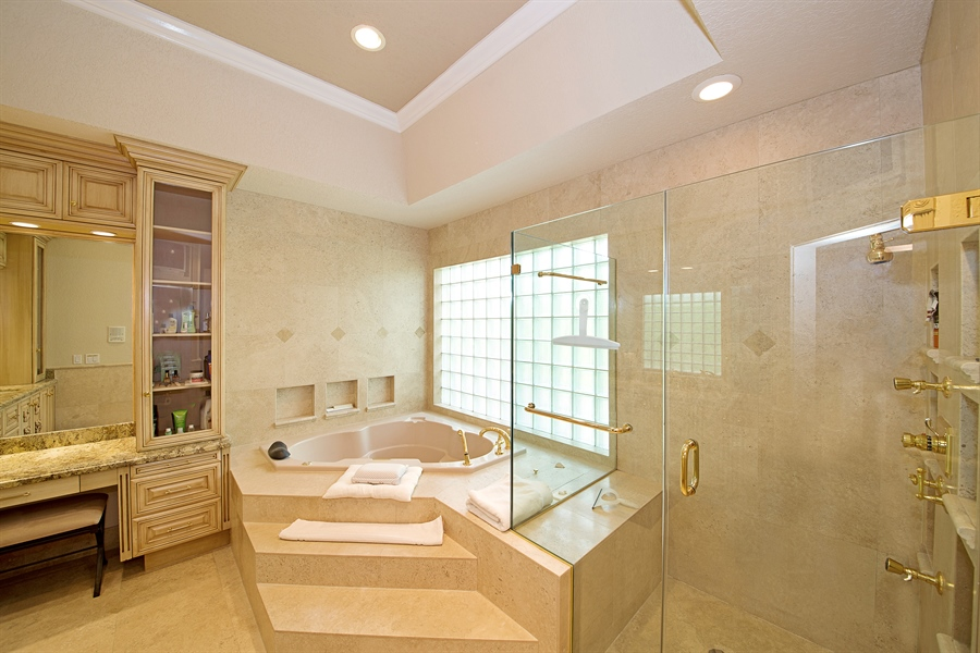 Real Estate Photography - 324 Holiday Dr, Hallandale, FL, 33009 - Master Bathroom