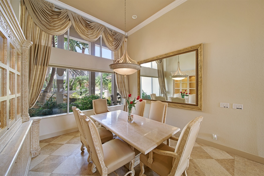 Real Estate Photography - 324 Holiday Dr, Hallandale, FL, 33009 - Dining Room