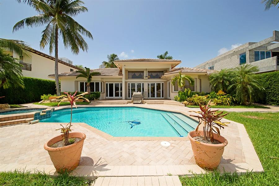 Real Estate Photography - 324 Holiday Dr, Hallandale, FL, 33009 - Back Yard